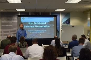 A Lesson in Post-tensioned Concrete Construction