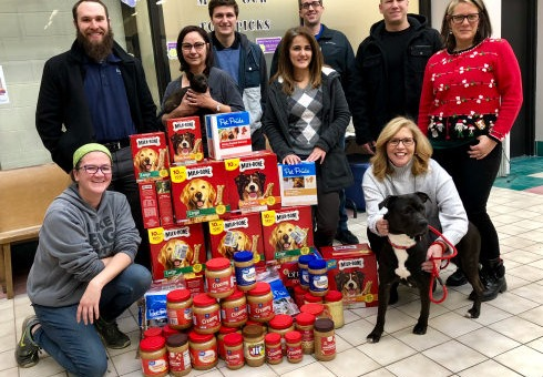 220 Pounds of Peanut Butter and Dog Biscuits!