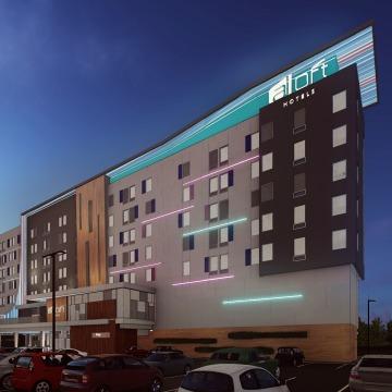 Aloft Hotel, Cap City